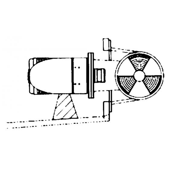 FASCIA BLU MM.25