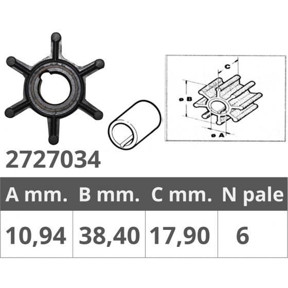 PINNA 20-25-30 HP - Numero