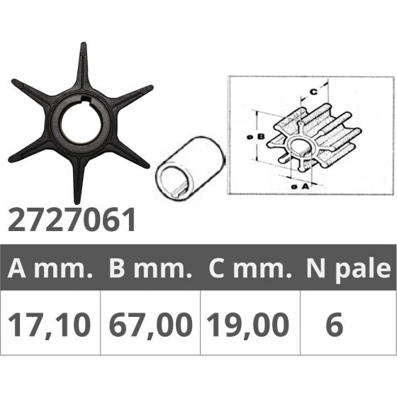 PLACCA  IN ZINCO 35-50 HP -...