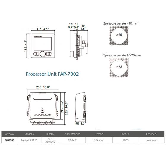 POMPA RULE 1100 24 V. - Numero