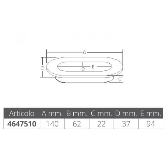 NASTRO TELATO 3M - Numero