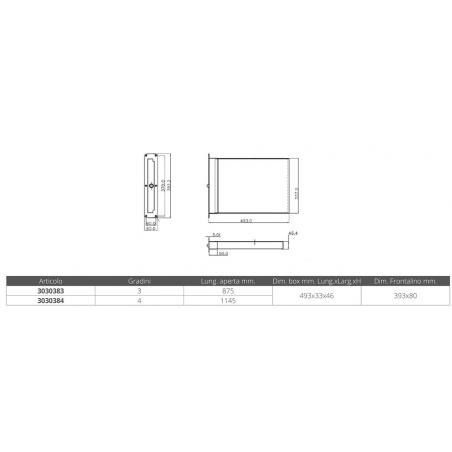 MONOCULARE 8X42 CON BUSSOLA - Numero